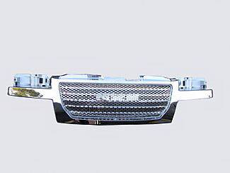 Grilles - Custom Fit Grilles - Street Scene - GMC Canyon Street Scene Chrome Grille Shell with Chrome Speed Grille - 950-78568