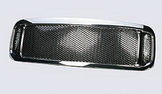 Grilles - Custom Fit Grilles - Street Scene - Ford Superduty Street Scene Chrome Grille Shell with Chrome Speed Grille - 950-78572