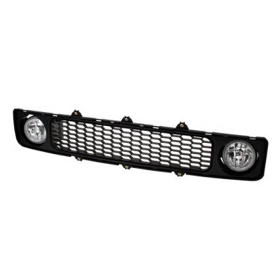 Grilles - Custom Fit Grilles - Spyder Auto - Scion tC Spyder Grille with Fog Lights - Clear - FL-G-STC05-C