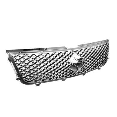 Grilles - Custom Fit Grilles - Spyder Auto - Suzuki Grand Vitara Spyder Front Grille - Chrome - GRI-SGV07-C