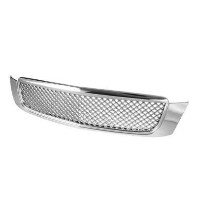 Grilles - Custom Fit Grilles - Spyder - Cadillac DeVille Spyder Front Grille - Chrome - GRI-SP-CADDEV00-C