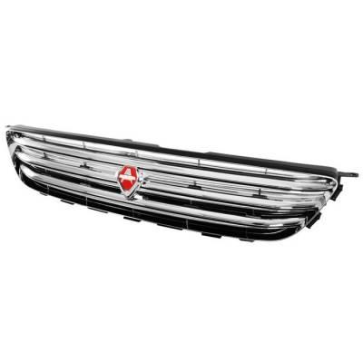 Grilles - Custom Fit Grilles - Spyder - Lexus IS Spyder JDM Front Grille - GRI-SP-LIS01-C