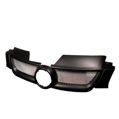Grilles - Custom Fit Grilles - Spyder - Volkswagen Rabbit Spyder Front Grille - GRI-VG06