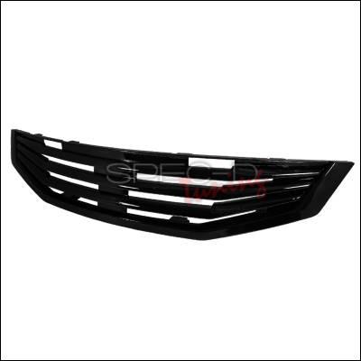 Grilles - Custom Fit Grilles - Spec-D - Honda Accord 2DR Spec-D Mugen Style Grille - Black - HG-ACD082MU