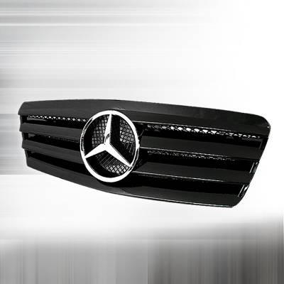 Grilles - Custom Fit Grilles - Spec-D - Mercedes-Benz CL Class Spec-D Si Style Grille - HG-BW20899SL