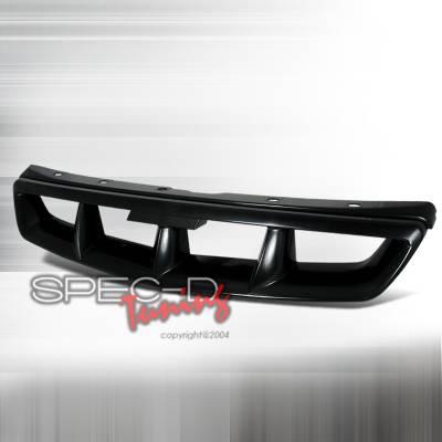 Grilles - Custom Fit Grilles - Spec-D - Honda Civic Spec-D Mugen Style Front Hood Grille - HG-CV96MU