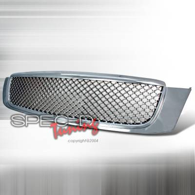 Grilles - Custom Fit Grilles - Spec-D - Cadillac DeVille Spec-D Front Grille - Chrome - HG-DVL00C