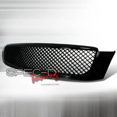 Grilles - Custom Fit Grilles - Spec-D - Cadillac DeVille Spec-D Front Grille - Black - HG-DVL00JM