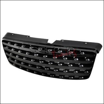 Grilles - Custom Fit Grilles - Spec-D - Infiniti FX35 Spec-D Grille - Black - HG-FX3503JM-RS