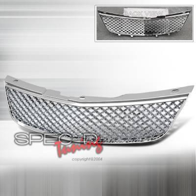 Grilles - Custom Fit Grilles - Spec-D - Chevrolet Impala Spec-D Mesh Grille - HG-IPA00C
