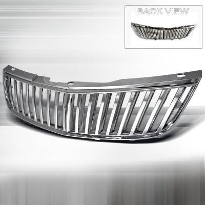 Grilles - Custom Fit Grilles - Spec-D - Chevrolet Impala Spec-D Vertical Grille - Chrome - HG-IPA00CVT