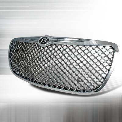 Grilles - Custom Fit Grilles - Spec-D - Chrysler Sebring Spec-D Mesh Grille - Chrome - HG-SEB04C