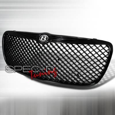 Grilles - Custom Fit Grilles - Spec-D - Chrysler Sebring Spec-D Mesh Grille - Black - HG-SEB04JM