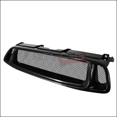 Grilles - Custom Fit Grilles - Spec-D - Subaru Impreza Spec-D Mesh Grille - Black - HG-WRX04TR