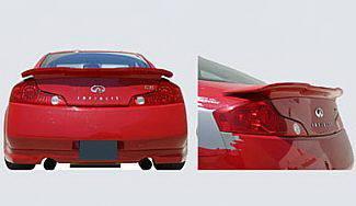 Spoilers - Custom Wing - Street Scene - Infiniti G35 2DR Street Scene Rear Deck Spoiler - 950-70339