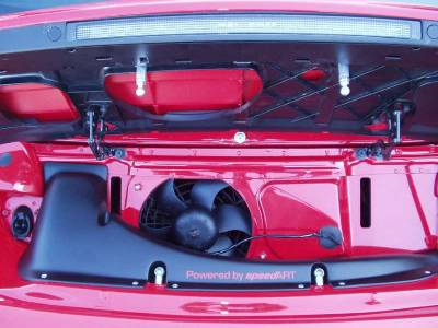 Spoilers - Custom Wing - SpeedArt - Cabriolet RSR Rearwing w. Intake