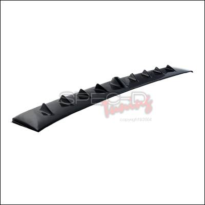 Spoilers - Custom Wing - Spec-D - Mitsubishi Lancer Spec-D Vortex Generator Roof Spoiler - SPL-EVO04-ABS
