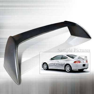 Spoilers - Custom Wing - Spec-D - Acura RSX Spec-D JDM Typer Spoiler - SPL-RSX02JM-TR
