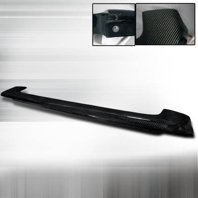 Spoilers - Custom Wing - Spec-D - Scion xB Spec-D Carbon Fiber Roof Spoiler - SPL-XB04CF