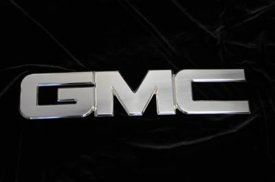 Accessories - Emblems - T-Rex - GMC Sierra T-Rex Billet GMC Emblem - Polished - 19205