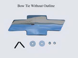 Accessories - Emblems - Street Scene - Chevrolet Silverado Street Scene Grille Shelll Bow Tie Emblem - 950-82002