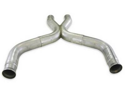 Exhaust - Exhaust Pipes - Stainless Works - Ford Mustang Stainless Works Exhaust X-Pipe - M11X