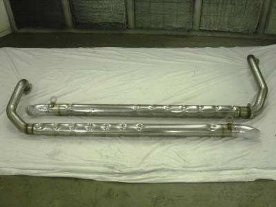 Exhaust - Exhaust Pipes - Stainless Works - Chevrolet Corvette Stainless Works Side Exhaust Pipes - VSP425SBC