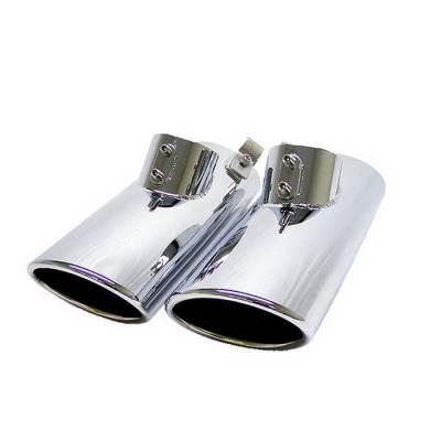 Exhaust - Exhaust Tips - Spyder Auto - Mercedes-Benz S Class Spyder Muffler Tip - MUT-MBW220