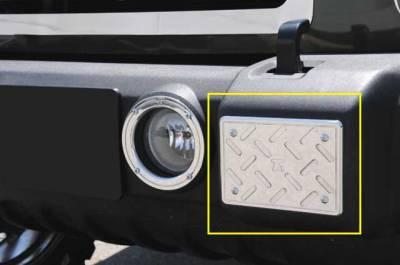 Accessories - Exterior Accessories - T-Rex - Jeep Wrangler T-Rex T1 Series Billet Exterior - Front Bumper Guards Plate - 2PC - 11484