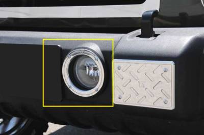 Accessories - Exterior Accessories - T-Rex - Jeep Wrangler T-Rex T1 Series Fog Light Rings - 2PC - 11486