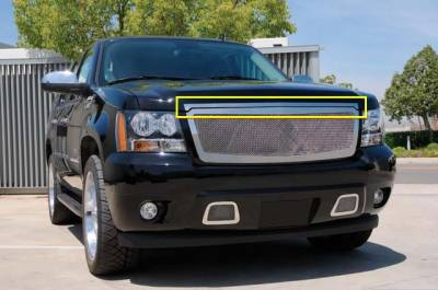 Accessories - Exterior Accessories - T-Rex - Chevrolet Avalanche T-Rex Stainless Steel Hood Trim - 54054