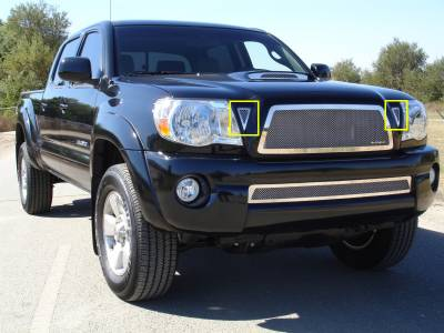 Accessories - Exterior Accessories - T-Rex - Toyota Tacoma T-Rex Side Vents - 2PC - 54937