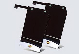 Accessories - Exterior Accessories - Street Scene - Dodge Ram Street Scene Mud Flap Kit Single Rear Wheel - 12 Inch Wide - 950-09740