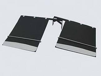 Accessories - Exterior Accessories - Street Scene - Chevrolet CK Truck Street Scene Mud Flap Kit Dual Rear Wheel - 18 Inch Wide - 950-09890