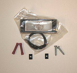 Accessories - Exterior Accessories - Street Scene - GMC C10 Street Scene License Plate Light Kit - 950-61112