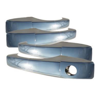 Accessories - Exterior Accessories - Spyder - Dodge Caravan Spyder Door Handle - No Passenger Side Key Hole - Chrome - CA-DH-C30011-NP