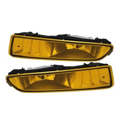 Headlights & Tail Lights - Fog Lights - Spyder - Acura TL Spyder OEM Fog Lights - No Switch - Yellow - FL-ATL02-Y