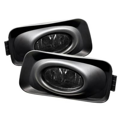 Headlights & Tail Lights - Fog Lights - Spyder - Acura TSX Spyder OEM Fog Lights - Smoke - FL-ATSX03-SM