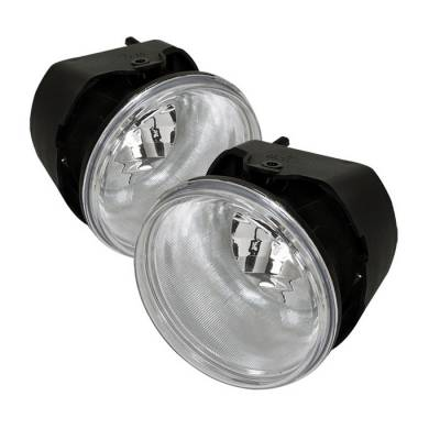 Headlights & Tail Lights - Fog Lights - Spyder - Chrysler 300 Spyder OEM Fog Lights - Clear - FL-C300C05-C