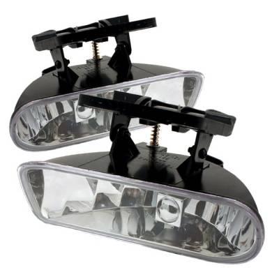 Headlights & Tail Lights - Fog Lights - Spyder - GMC Yukon Spyder OEM Fog Lights - No Switch - Clear - FL-CL-GMCY99-C
