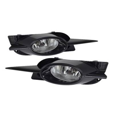 Spyder - Honda Civic 2DR Spyder OEM Fog Lights - Clear - FL-CL-HC09-2D-C - Image 1