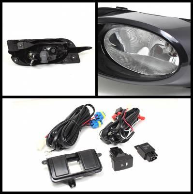 Spyder - Honda Civic 2DR Spyder OEM Fog Lights - Clear - FL-CL-HC09-2D-C - Image 2
