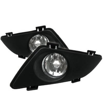 Headlights & Tail Lights - Fog Lights - Spyder - Mazda 6 Spyder OEM Fog Lights - Clear - FL-CL-MAZDA6