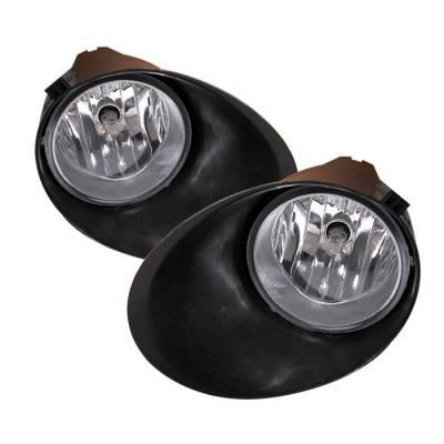 Headlights & Tail Lights - Fog Lights - Spyder - Toyota Tundra Spyder OEM Fog Lights - Clear - FL-CL-TTU07-C