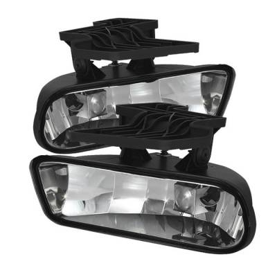 Headlights & Tail Lights - Fog Lights - Spyder - Chevrolet Suburban Spyder Fog Lights - No Switch - Clear - FL-CS99-C