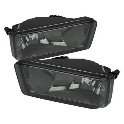 Headlights & Tail Lights - Fog Lights - Spyder - Chevrolet Suburban Spyder OEM Fog Lights - No Switch - Smoke - FL-CSIL07-SM