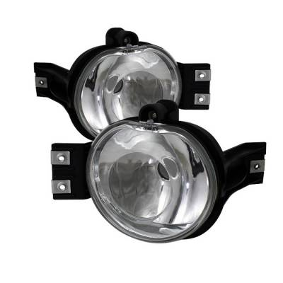 Headlights & Tail Lights - Fog Lights - Spyder - Dodge Durango Spyder Crystal Fog Lights - No Switch - Euro Clear - FL-DR02-E