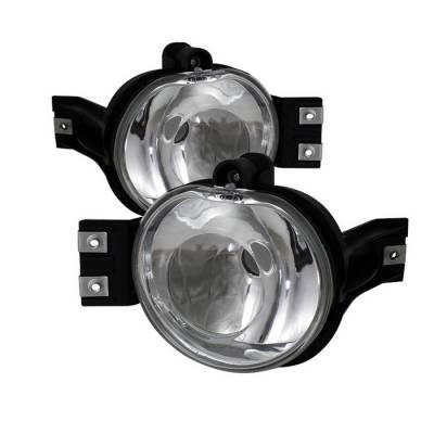 Headlights & Tail Lights - Fog Lights - Spyder - Dodge Ram Spyder Crystal Fog Lights - No Switch - Euro Clear - FL-DR02-E