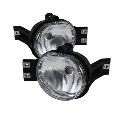 Headlights & Tail Lights - Fog Lights - Spyder Auto - Dodge Ram Spyder OEM Fog Lights - Clear - FL-DR02-OEM-C