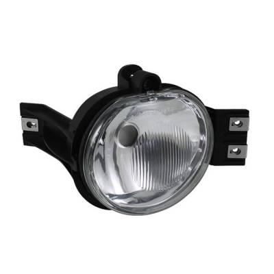 Headlights & Tail Lights - Fog Lights - Spyder - Dodge Ram Spyder OEM Fog Lights - No Switch - Clear - Left - FL-DR02-OEM-L